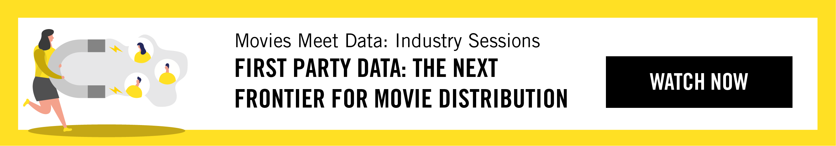 Movies Meet Data Industry Session image