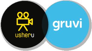 usheru and Gruvi logos