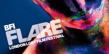 Flare LGBT Film Festival Logo