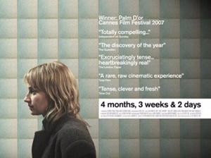4 Months, 3 Weeks and 2 Days (4 luni, 3 saptamini si 2 zile) Poster