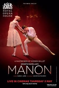 Royal Opera House: Manon Poster
