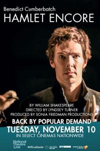 National Theatre Live: Hamlet ENCORE Poster