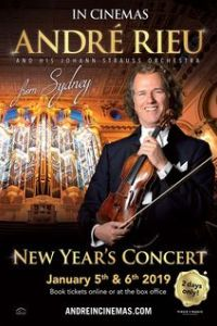 Andre Rieu's 2019 New Year's Concert from Sydney Poster