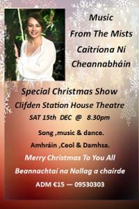 Music from the Mists - Caitríona Ni Cheannabhain Poster