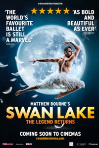 Matthew Bourne's Swan Lake 2019 Poster