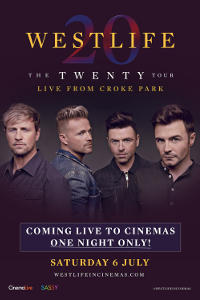 Westlife: The Twenty Tour Live from Croke Park Poster