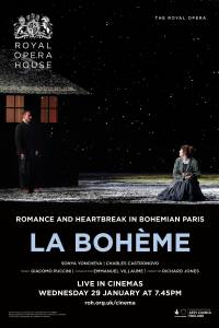 The Royal Opera House: La Boheme (2020) Logo