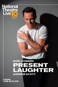 NT Live: Present Laughter Poster
