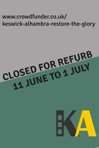 Cinema closed for refurb Poster