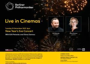 Berliner Philharmoniker Live: New Year's Eve Concert 2019 Poster
