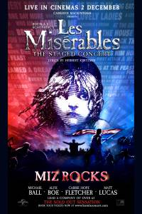 Les Miserables: The Staged Concert Poster