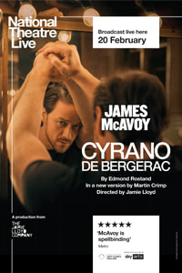 National Theatre Live: Cyrano de Bergerac Poster