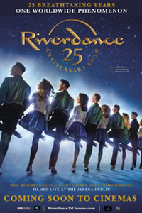 Riverdance 25th Anniversary Poster