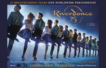 Riverdance 25th Anniversary Poster