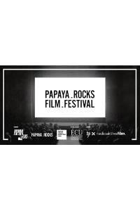 Studio 4: Papaya Rocks Film Festival 2020 Logo