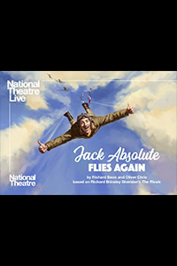National Theatre Live: Jack Absolute Flies Again Logo