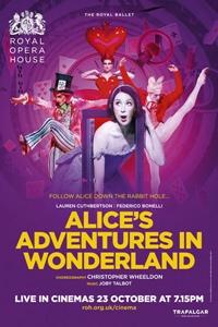 Royal Ballet: Alice's Adventures in Wonderland Poster