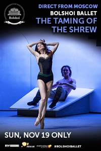 Bolshoi Ballet: The Taming of the Shrew Poster