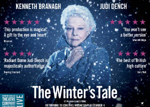 Kenneth Branagh Theatre Company's The Winter's Tale Poster