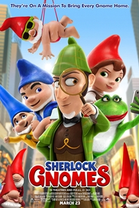 Gnomeo & Juliet: Sherlock Gnomes Poster
