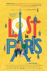 Lost in Paris (Paris pieds nus) Poster