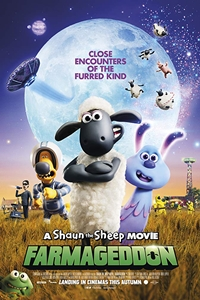 Shaun the Sheep Movie: Farmageddon Logo