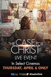 Case for Christ: LIVE Poster