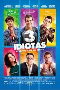 3 Idiotas Poster