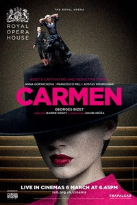 Royal Opera House: Carmen Poster