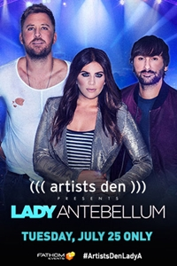 Artists Den Presents Lady Antebellum Poster