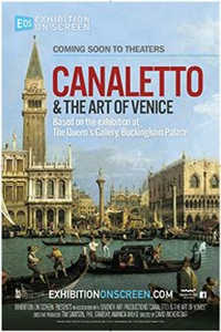 Exhibition on Screen: Canaletto and the Art of Venice Poster