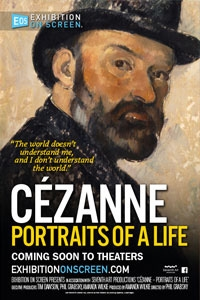 Exhibition on Screen: Cézanne Portraits of a Life Poster