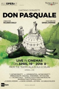 All'Opera: Don Pasquale Poster
