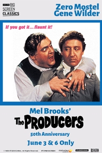 The Producers 50th Anniversary (1968) presented by TCM Poster