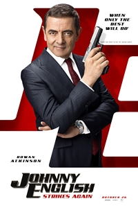 Johnny English 3 Poster