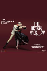 The Merry Widow – Australian Ballet (2018) Poster