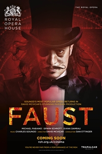 The Royal Opera House: Faust Poster