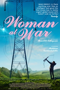 Woman at War (Kona fer í stría) Poster