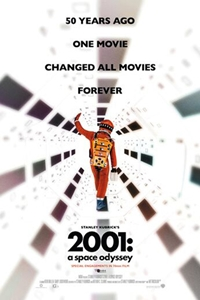 2001: A Space Odyssey in 70mm Format Poster