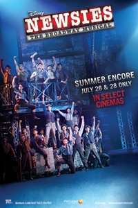 DISNEY'S NEWSIES: THE BROADWAY MUSICAL! - Summer Encore Poster