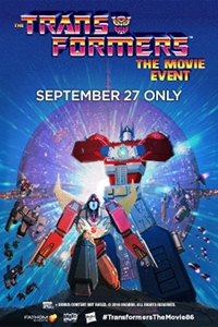 The Transformers (1986) Movie Event Poster
