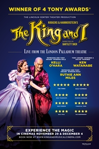 The King and I - LIVE From the West End Poster