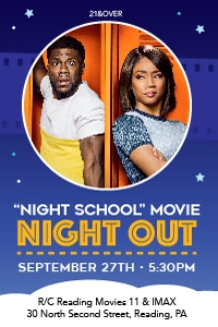 Night School Night Out Poster