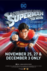 Superman 40th Anniversary Poster