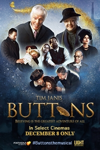 Buttons, A New Musical Film Logo