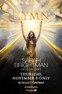 HYMN - Sarah Brightman in Concert Poster