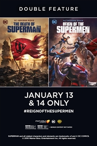 The Death of Superman / Reign of the Supermen Double Feature Poster