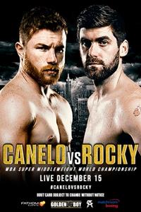 Canelo vs. Rocky Poster