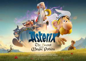Asterix: The Secret of the Magic Potion Poster