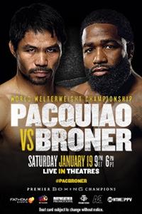 Pacquiao vs. Broner Poster